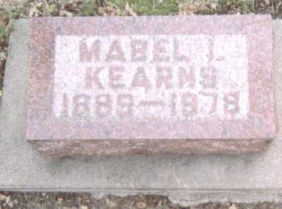 KEARNS, MABEL I. - Linn County, Iowa | MABEL I. KEARNS