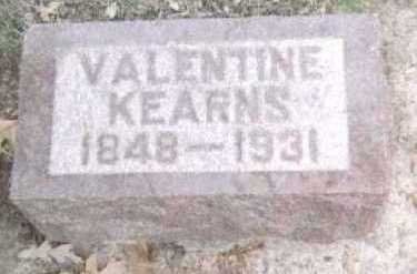 KEARNS, VALENTINE - Linn County, Iowa | VALENTINE KEARNS