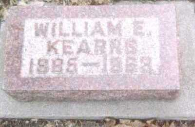KEARNS, WILLIAM E. - Linn County, Iowa | WILLIAM E. KEARNS