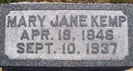 KEMP, MARY JANE - Linn County, Iowa | MARY JANE KEMP