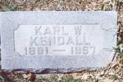 KENDALL, KARL W. - Linn County, Iowa | KARL W. KENDALL
