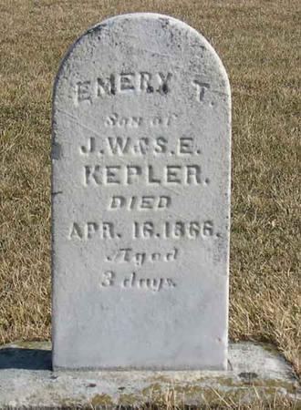 KEPLER, EMERY T. - Linn County, Iowa | EMERY T. KEPLER