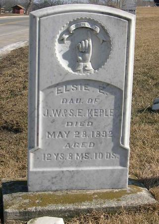 KEPLER, ELSIE E. - Linn County, Iowa | ELSIE E. KEPLER