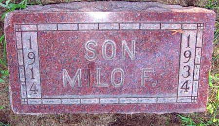 KILBERGER, MILO F. - Linn County, Iowa | MILO F. KILBERGER