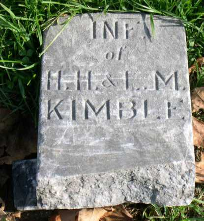 KIMBLE, INFANT - Linn County, Iowa | INFANT KIMBLE