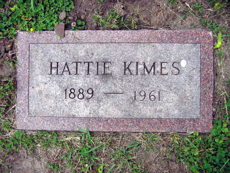KIMES, HATTIE - Linn County, Iowa | HATTIE KIMES