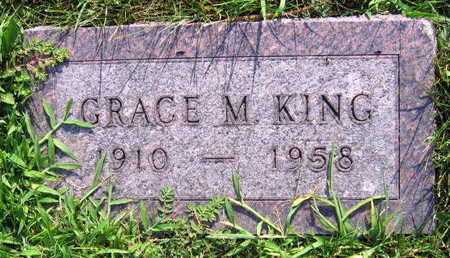 KING, GRACE M. - Linn County, Iowa | GRACE M. KING
