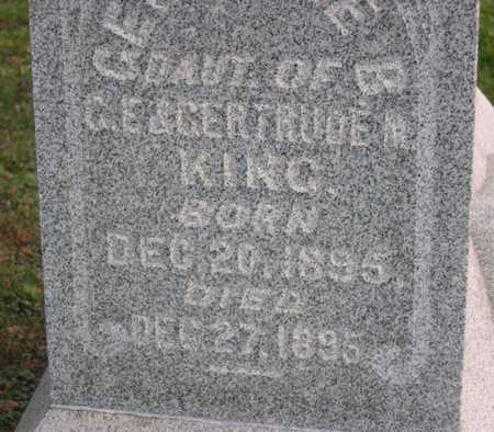 KING, INF. DAU. - Linn County, Iowa   INF. DAU. KING