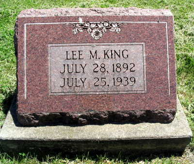 KING, LEE M. - Linn County, Iowa | LEE M. KING
