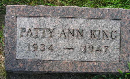 KING, PATTY ANN - Linn County, Iowa | PATTY ANN KING