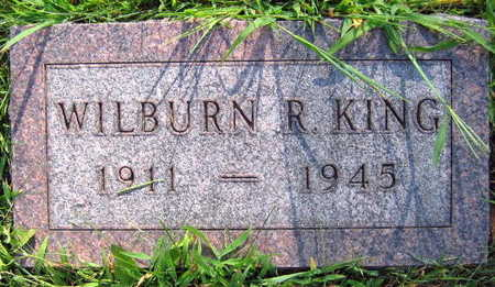 KING, WILBURN R. - Linn County, Iowa | WILBURN R. KING