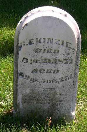 KINZIE, B. E. - Linn County, Iowa | B. E. KINZIE