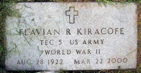 KIRACOFE, FLAVIAN R. - Linn County, Iowa | FLAVIAN R. KIRACOFE