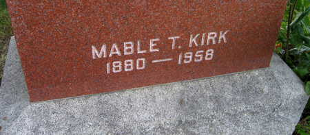 KIRK, MABLE T. - Linn County, Iowa | MABLE T. KIRK