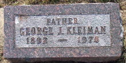 KLEIMAN, GEORGE I - Linn County, Iowa | GEORGE I KLEIMAN