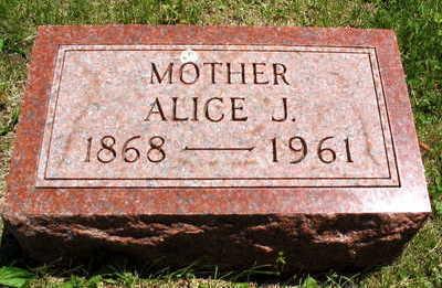 KLEINECK, ALICE J. - Linn County, Iowa   ALICE J. KLEINECK