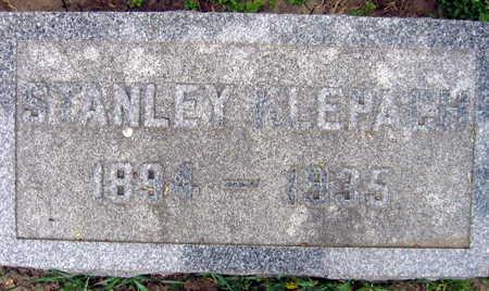 KLEPACH, STANLEY - Linn County, Iowa | STANLEY KLEPACH