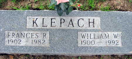 KLEPACH, WILLIAM W. - Linn County, Iowa | WILLIAM W. KLEPACH