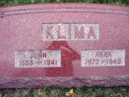 KLIMA, ANNA - Linn County, Iowa | ANNA KLIMA