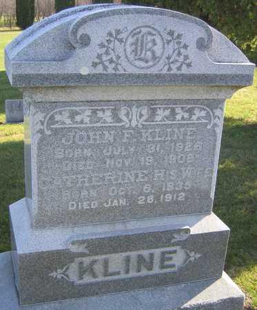 KLINE, JOHN F. - Linn County, Iowa | JOHN F. KLINE