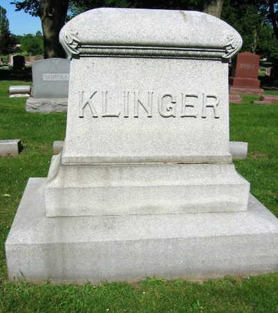 KLINGER, FAMILY STONE - Linn County, Iowa | FAMILY STONE KLINGER