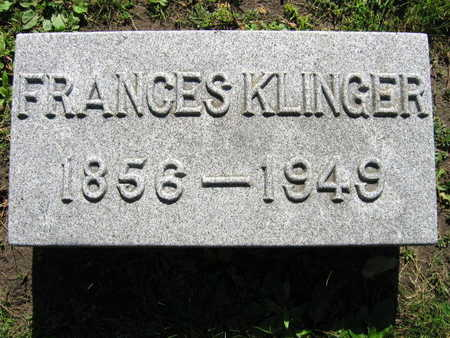 KLINGER, FRANCES - Linn County, Iowa | FRANCES KLINGER