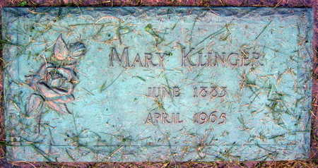 KLINGER, MARY - Linn County, Iowa | MARY KLINGER