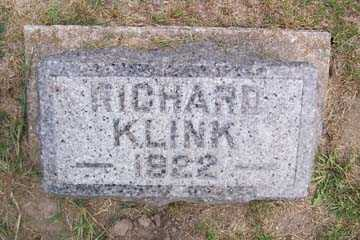KLINK, RICHARD - Linn County, Iowa | RICHARD KLINK