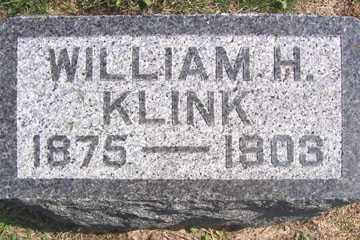 KLINK, WILLIAM H. - Linn County, Iowa | WILLIAM H. KLINK