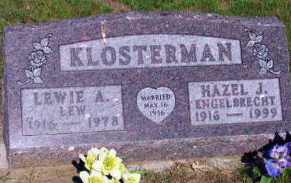 ENGELBRECHT KLOSTERMAN, HAZEL J. - Linn County, Iowa | HAZEL J. ENGELBRECHT KLOSTERMAN