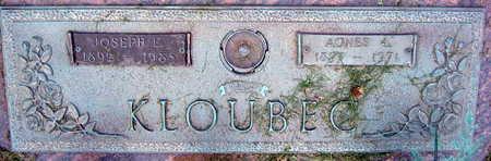 KLOUBEC, AGNES - Linn County, Iowa | AGNES KLOUBEC