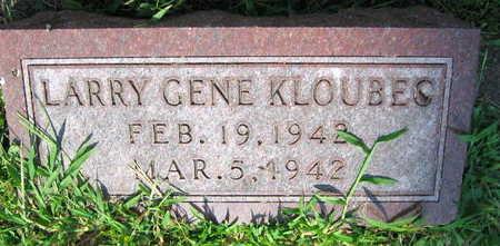 KLOUBEC, LARRY GENE - Linn County, Iowa | LARRY GENE KLOUBEC