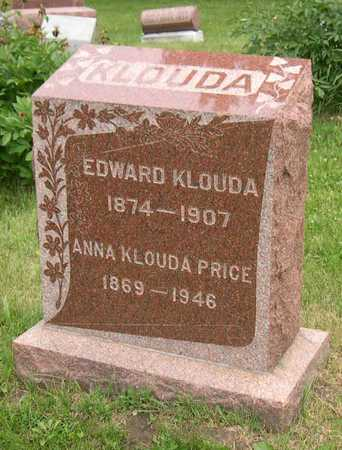 KLOUDA PRICE, ANNA - Linn County, Iowa | ANNA KLOUDA PRICE