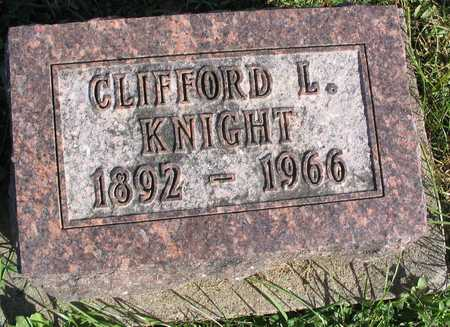 KNIGHT, CLIFFORD L. - Linn County, Iowa | CLIFFORD L. KNIGHT