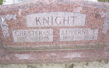 KNIGHT, LUVERNE E. - Linn County, Iowa | LUVERNE E. KNIGHT