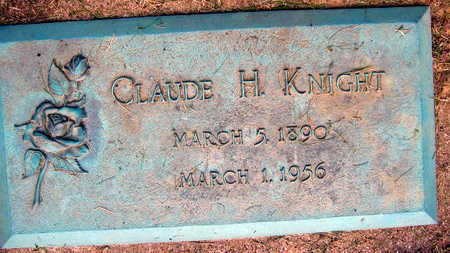 KNIGHT, CLAUDE H. - Linn County, Iowa | CLAUDE H. KNIGHT