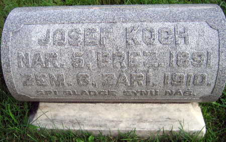 KOCH, JOSEF - Linn County, Iowa | JOSEF KOCH
