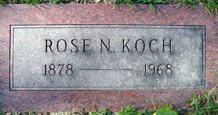KOCH, ROSE N. - Linn County, Iowa | ROSE N. KOCH