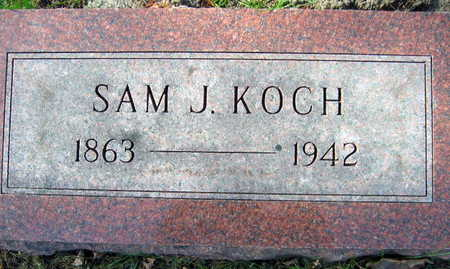 KOCH, SAM J. - Linn County, Iowa | SAM J. KOCH