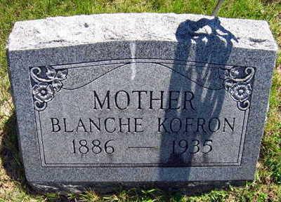 KOFRON, BLANCHE - Linn County, Iowa | BLANCHE KOFRON