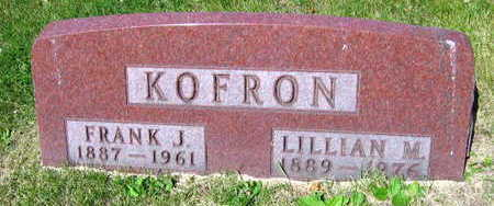 KOFRON, LILLIAN M. - Linn County, Iowa | LILLIAN M. KOFRON