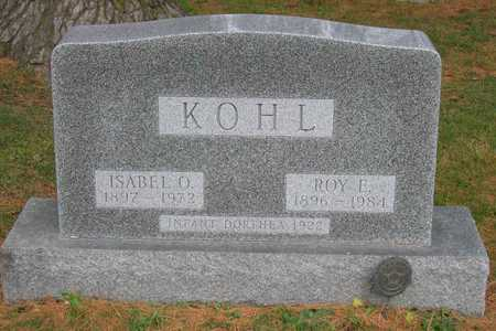 KOHL, ROY E. - Linn County, Iowa | ROY E. KOHL