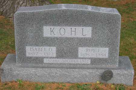 KOHL, ISABEL O. - Linn County, Iowa | ISABEL O. KOHL