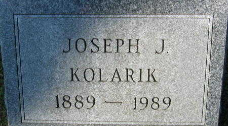 KOLARIK, JOSEPH - Linn County, Iowa | JOSEPH KOLARIK