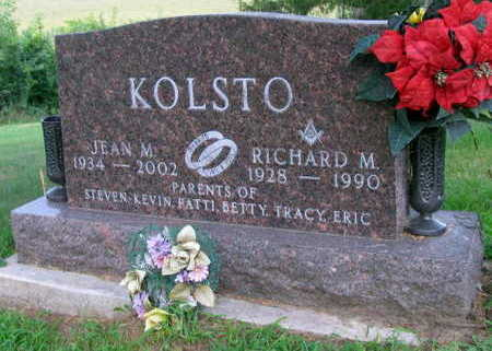 KOLSTO, RICHARD M. - Linn County, Iowa | RICHARD M. KOLSTO