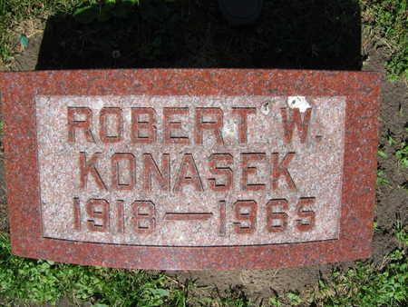 KONASEK, ROBERT W. - Linn County, Iowa | ROBERT W. KONASEK