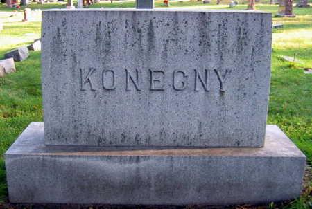 KONECNY, FAMILY STONE   (KOPECNY NOVOTNY) - Linn County, Iowa | FAMILY STONE   (KOPECNY NOVOTNY) KONECNY