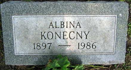 KONECNY, ALBINA - Linn County, Iowa | ALBINA KONECNY
