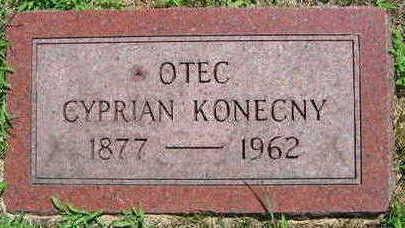 KONECNY, CYPRIAN - Linn County, Iowa | CYPRIAN KONECNY