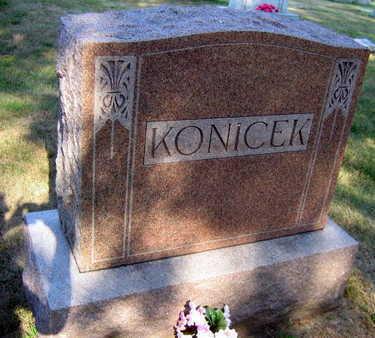KONICEK, FAMILY STONE - Linn County, Iowa | FAMILY STONE KONICEK